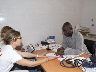 Recontre du Médecin Chef à Oussouye et du sous-Préfet à Cabrousse