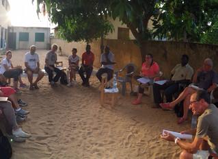 Réunion de l'ensemble des associations humanitaires intervenant sur la commune de Diembering reg