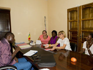 Au Conseil Départemental d'Oussouye