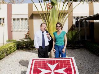 Rencontre avec l'Ordre de Malte et visite du CHOM