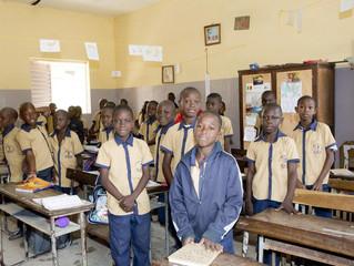 Visite du Pré-séminaire de St Jean à Nyassia