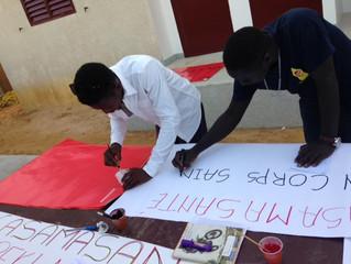 Avec l'association de la Jeunesse de Cap Skirring
