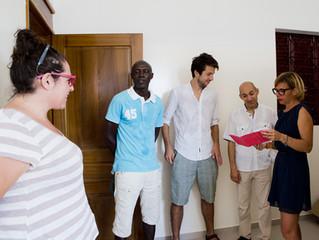 Réunion de travail avec les représentants du Club Med et de la Fondation d'entreprise du Club Me