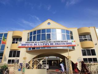 VISITE DU CENTRE HOSPITALO-UNIVERSITAIRE DE L'HOPITAL DE LA PAIX DE ZIGUINCHOR