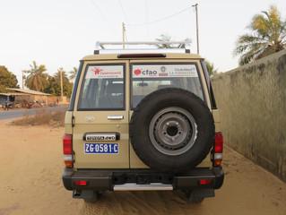 Le véhicule Sanitaire de Casamasanté !