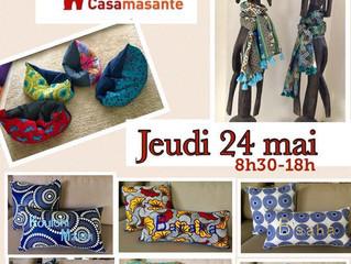 Vente Caritative le 24 mai à Casablanca !