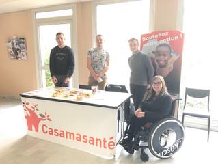 Opération Vente de Cookies à l'IUT d'Aix-Marseille au profit de Casamasanté !