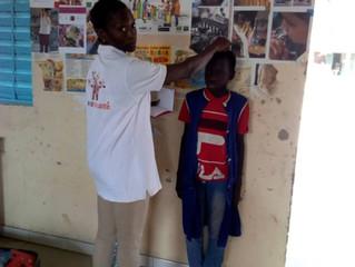 Médecine scolaire à Boucotte Diola
