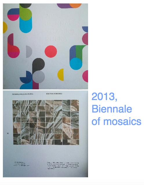Biennale of mosaics