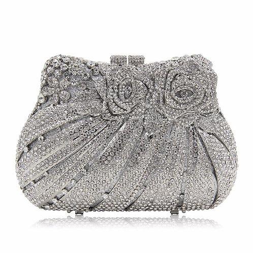 Silver Queen Luxury Clutch