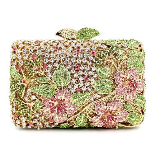 Fantastic Floral Luxury Clutch