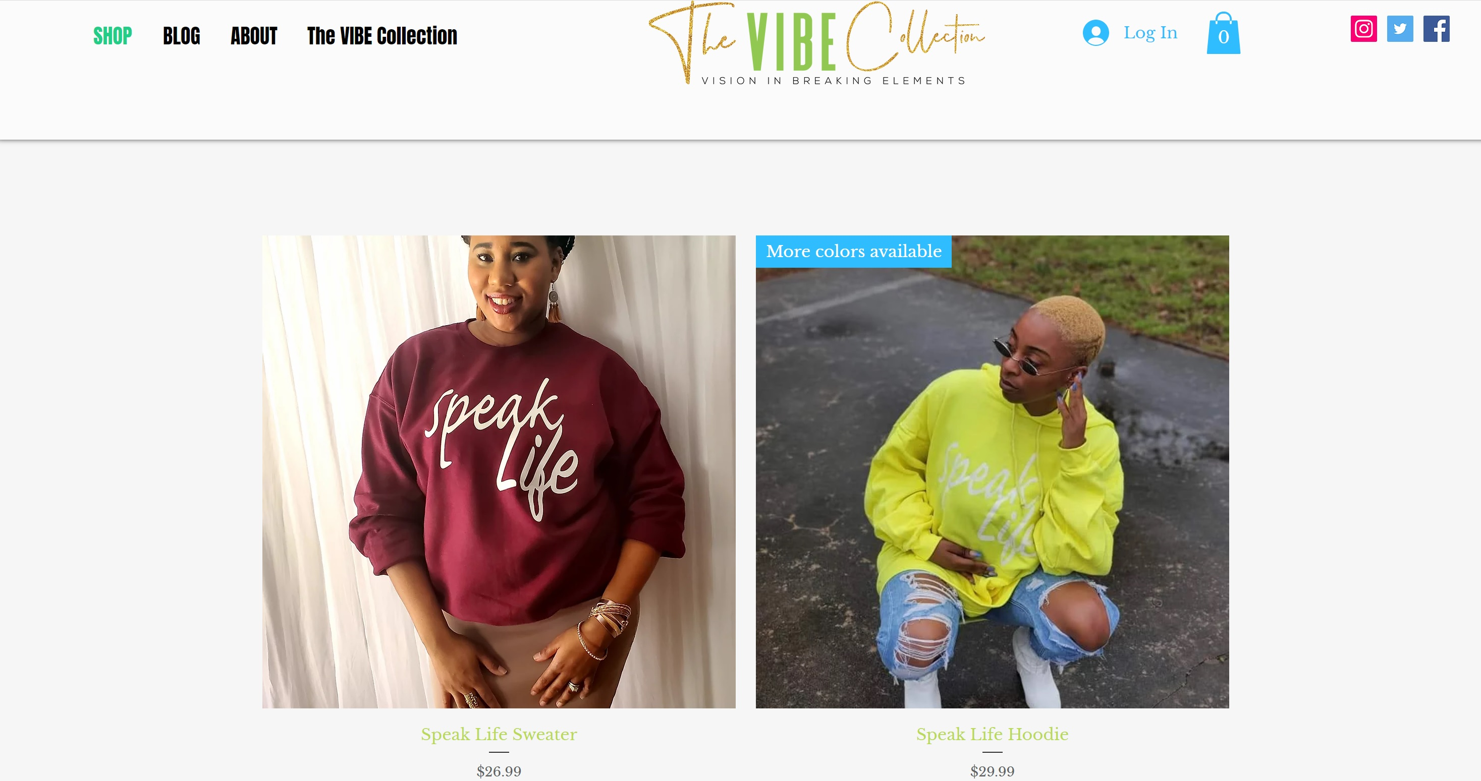 The Vibe Collection
