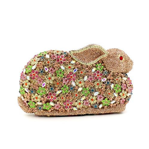 Bunny Love Luxury Clutch (Gold)