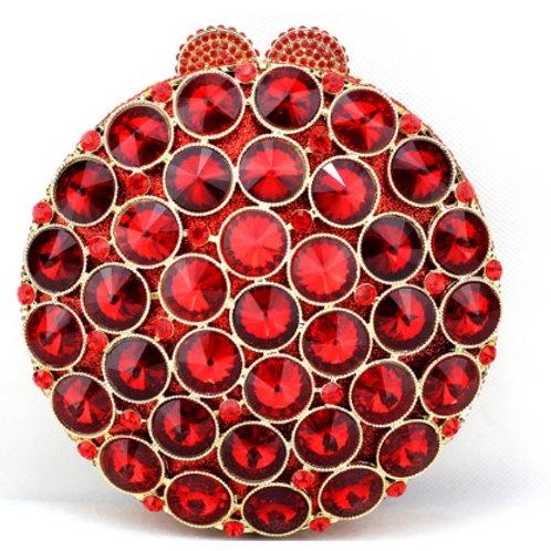 Ruby Roulette Luxury Clutch
