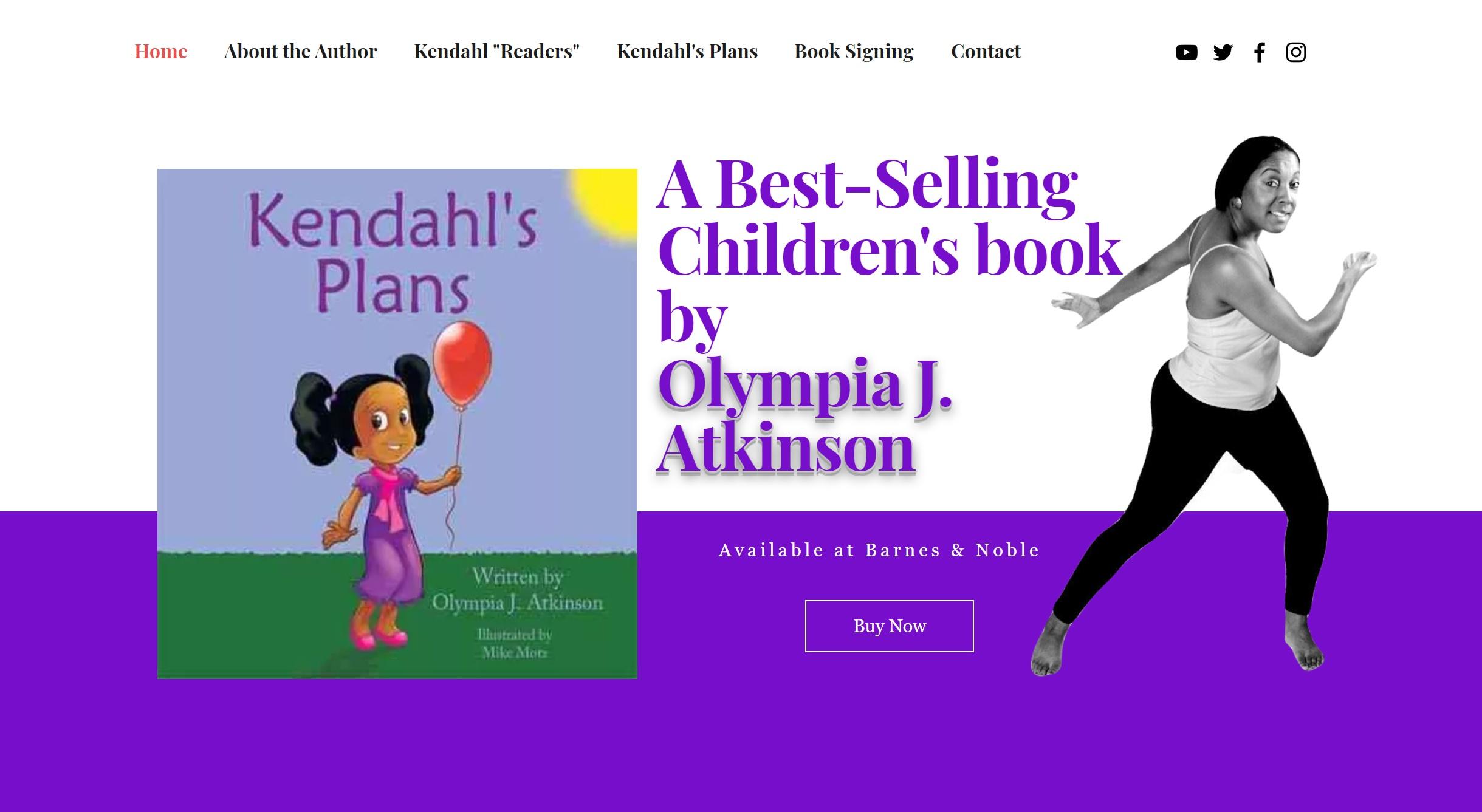 Author Olympia J Atkinson