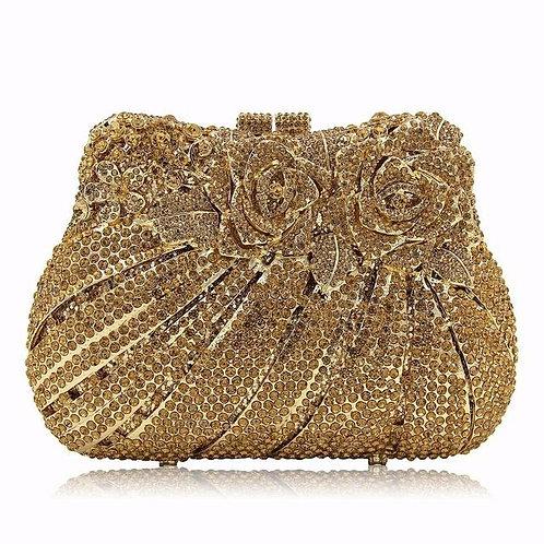Golden Queen Luxury Clutch