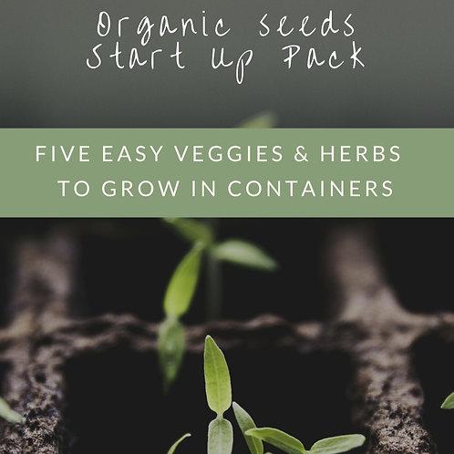 Organic start up pack