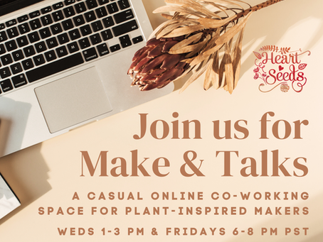 Join Make & Talks