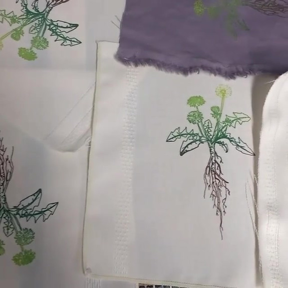 Printing up a storm of upcycled nature i
