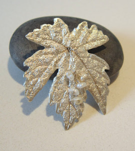 Art clay sølv-vedhæng