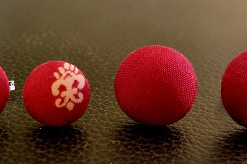 Øreringe, stickers - lille (12 mm)