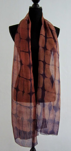 Shiboritørklæde