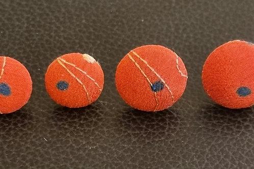 Øreringe, stickers - stor (15 mm)