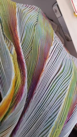 """Shiboritørklæde - """"arashi"""""""