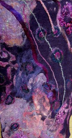 Nunotørklæde - detalje