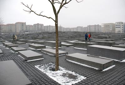 Holocaust Memorial designed by Peter Eisenman, Berlin, 2009