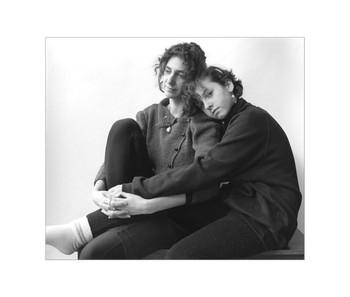 Sheba  with her daughter, Sasha, Ottawa, Archival Print, 1988