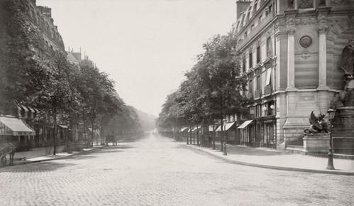 Boulevard St. Michel (de la Fontaine St. Michel)