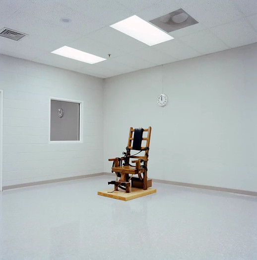 Electric Chair, Greensville Correctional Facility, Greensville VA 1991