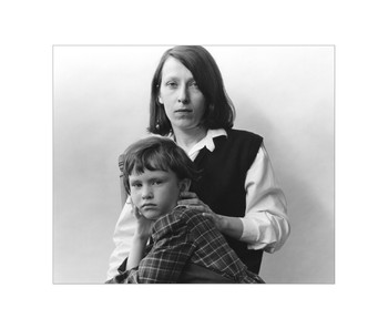 Joelle with her daughter, Celia, Ottawa, Archival Print, 1986
