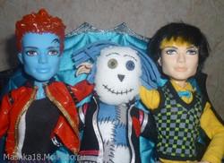 Hoodude Voodoo trio