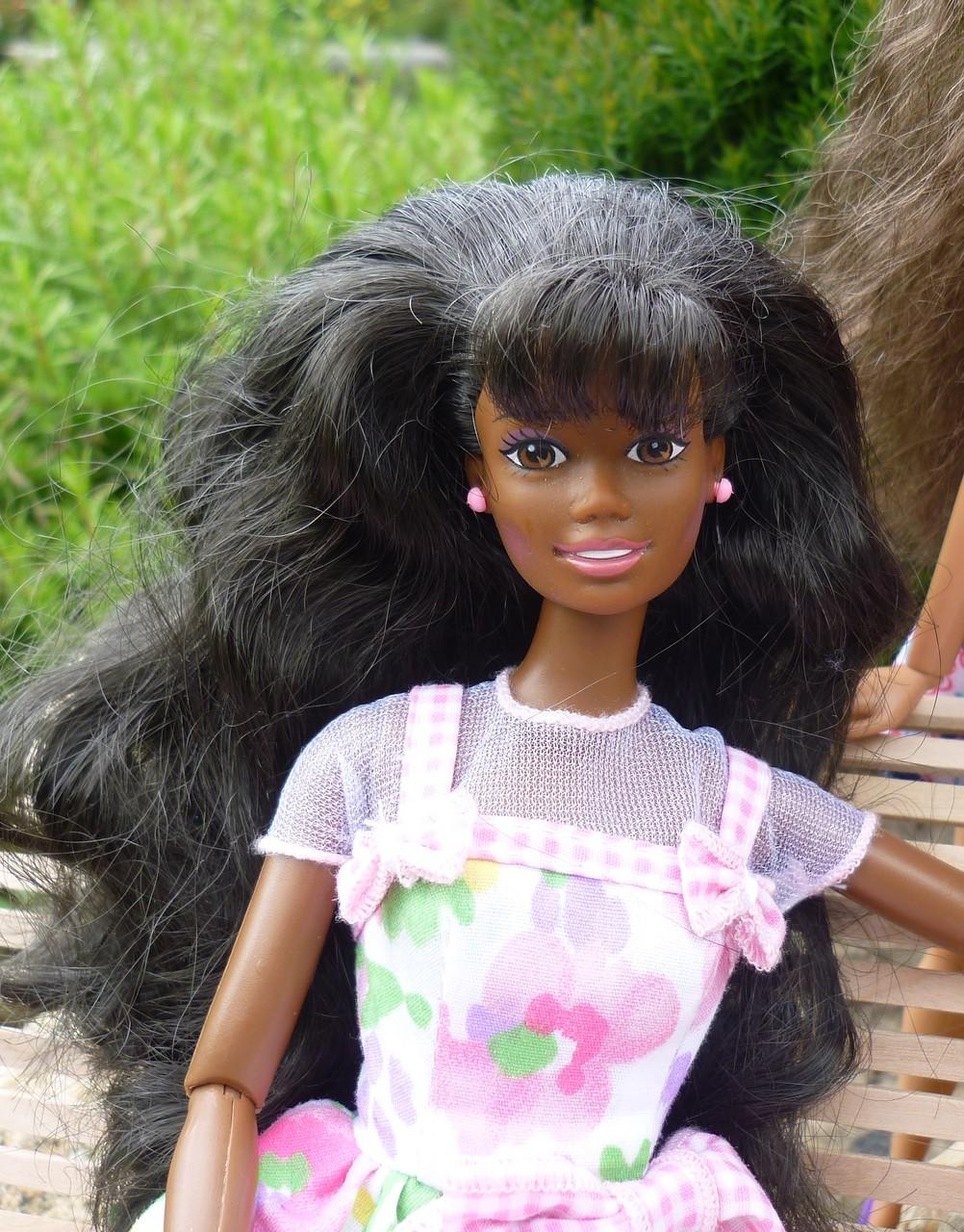 Spring Petals Barbie 1996