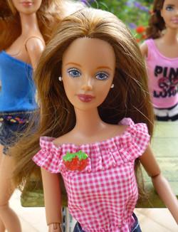 Winter Evening Barbie (brunette) 1998