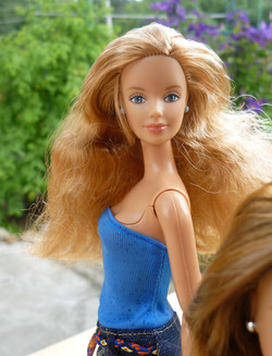 Corduroy Cool Barbie 1999