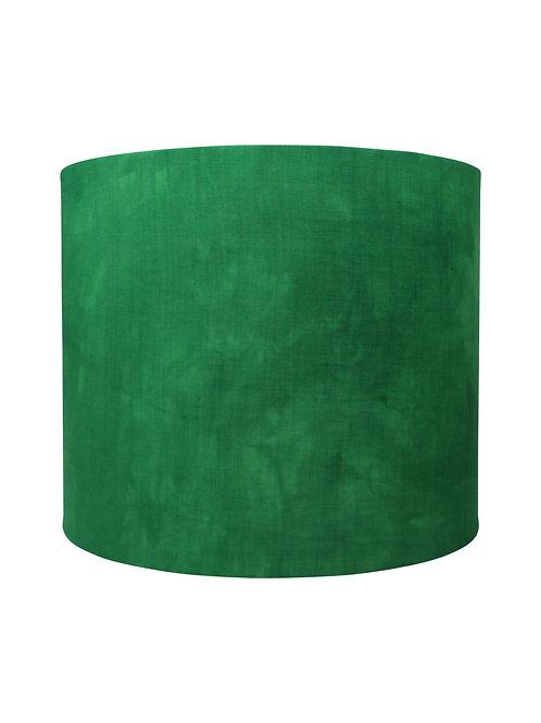 100% Linen Hand Dyed Emerald Green Handmade Designer Lampshades