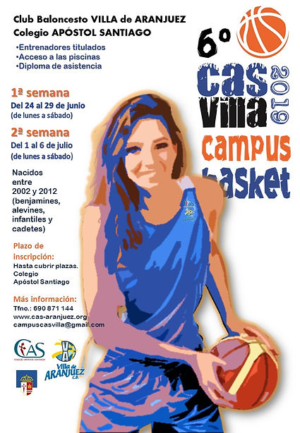 Cartel VI Campus Basket CASVILLA 2019.jp