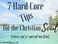 7 Hard Core Tips for the Christian Soul (when you're spread too thin)