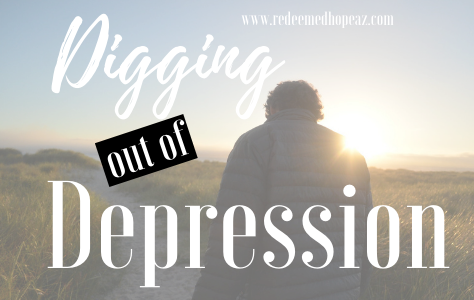 Digging out of Depression