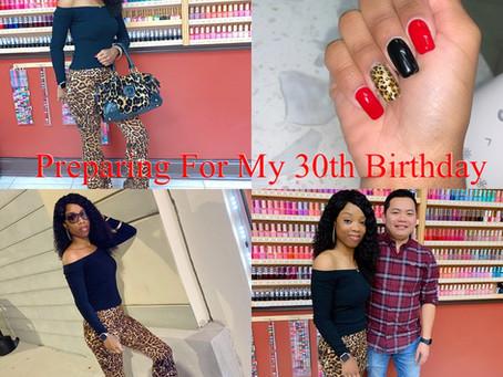 Preparing For My Birthday:My Birthday Nails