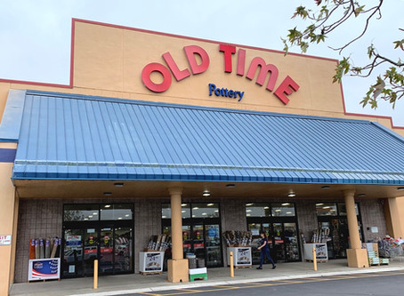 Holiday Shopping At Old Time Pottery