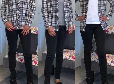 Fall Style|Plaid Shirt|Styled  3 Different Ways