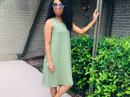 Cute & Comfortable Dress From Time & Tru(Walmart)