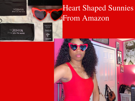 Heart Shaped Sunnies From Amazon