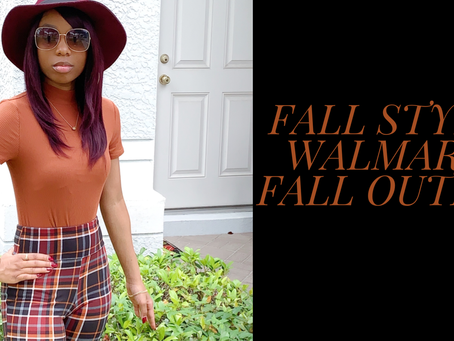 Fall Style|Walmart Fall Outfit