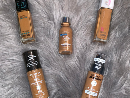 My Favorite Drug Store Foundations