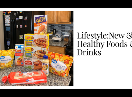 Lifestyle:New & Healthy Foods & Drinks